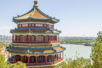 Foto op Plexiglas Beijing Summer Palace Pagoda Beijing China