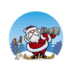 Дед Мороз Santa Claus  фотограф