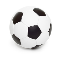 soccer ball object on white