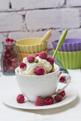 milk cream frozen dessert