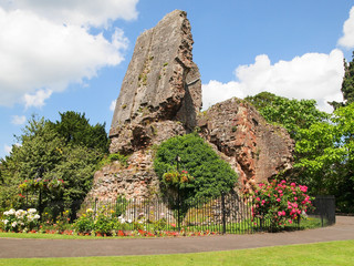 Bridgnorth castle ruins
