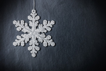 bright Christmas snowflake