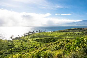 The coast of North West Maui, Hawaii