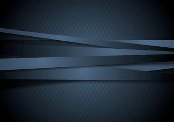 Dark corporate stripes background