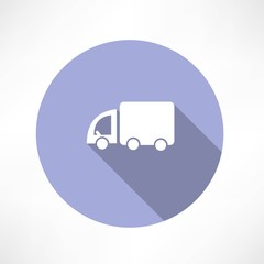 Truck transport icon