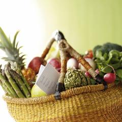 Panier de fruits & légules