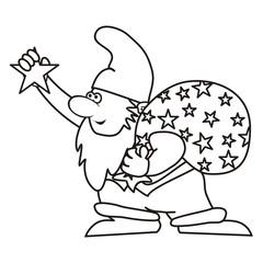 Santa Claus, coloring book