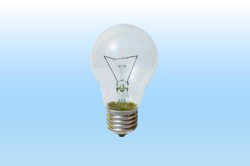 Light bulb isolated