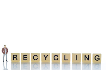 RECYCLING word