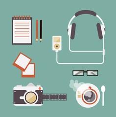 Desk Photos Illustrations
