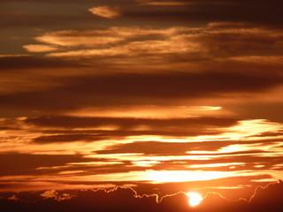 lever de soleil en méditerranée