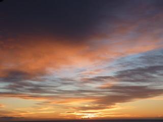 l'aube lever de soleil