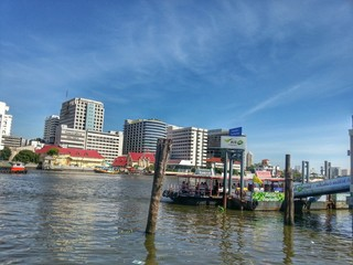 Ferry boat in Chao Phraya River