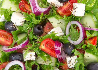 Fresh tasty salad