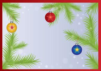 tło,kartka,ozdoby świąteczne