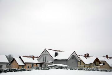 Residential urban houses