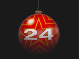 "Christmas ""24"" 3D Concept Single III"