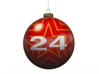 "Christmas ""24"" 3D Concept Single I"