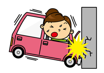 SD女性 交通事故
