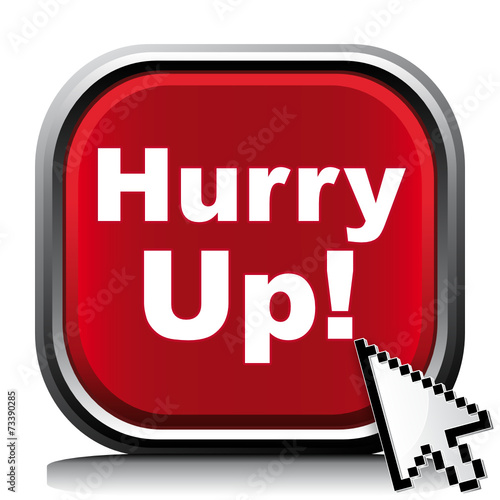 """""""HURRY UP! ICON"""" Stock image and royalty-free vector files ..."""