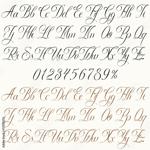Tattoo Font Stock Image And Royalty Free Vector Files On Fotolia