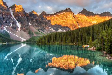 Fotomurales - Moraine Lake in Canada