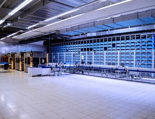 Logistikunternehmen, Fließbandproduktion