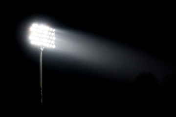 Papiers peints Stade de football Spotlight of stadium