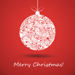 Christmas Greeting Card - Christmas Ball