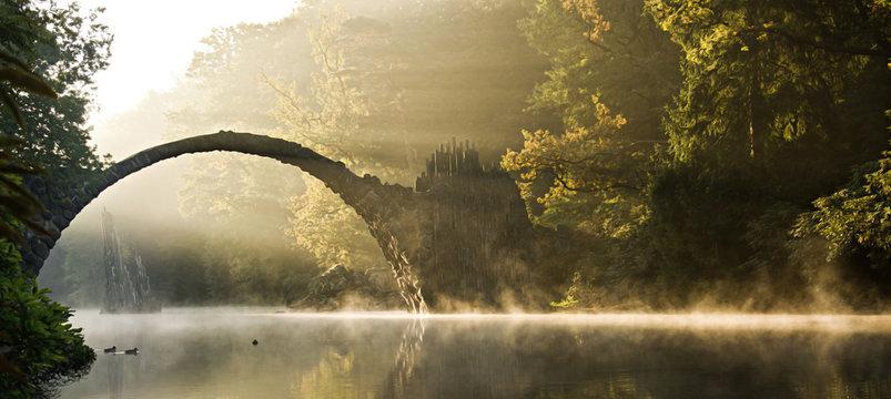 mystische Morgenstimmung