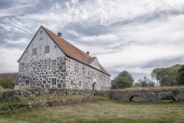 Hovdala Castle From Moat