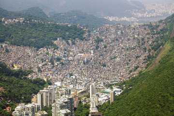 Biggest Slum in South America, Favela Rocinha