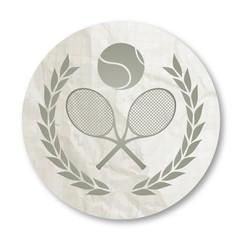 Vintage icon tennis