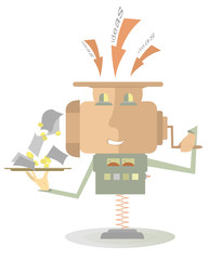 Moneymaker machine converts ideas to money