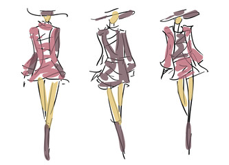 :	Sketch Fashion Poses
