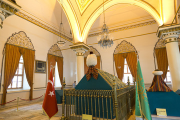 Tombs of the early Ottoman Empire Sultans in Bursa, Turkey