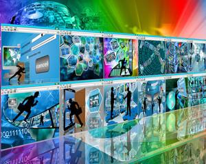 web wall