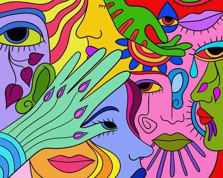 colori astratti