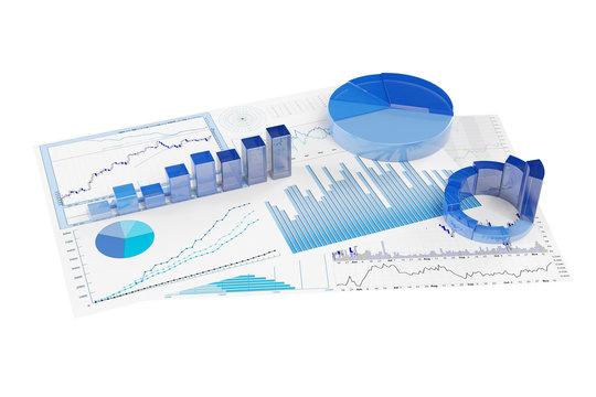 Analyse von Diagrammen mit Aktienkursen