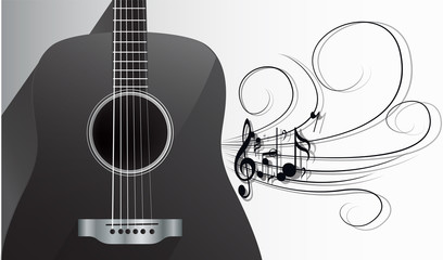 Acoustic Guitar and Melody