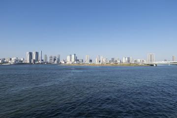 東京湾の風景 晴海〜豊洲