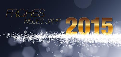 frohes neues Jahr 2015 _Grußkarte kazy