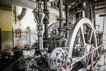 rusty industrial ruine Fototapete