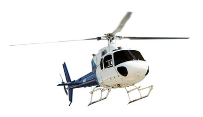 Wall Murals Helicopter Helicopter with working propeller