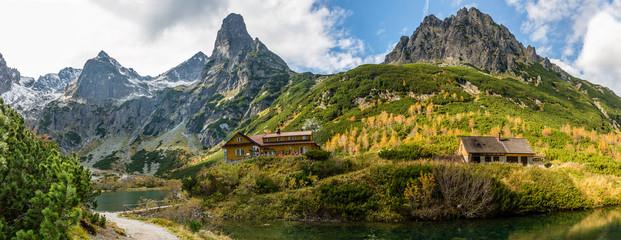 Green Lake in Tatra mountain, Slovakia