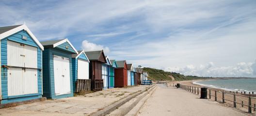 Cabines de plage anglaises