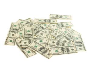 Giving many cash dollars