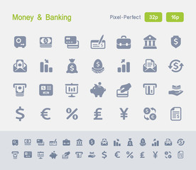 Money & Banking | Granite Icons