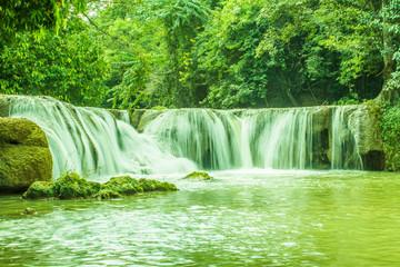 Waterfall in Nakhon Ratchasima, Thailand.