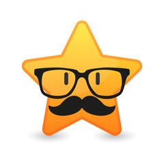 Hipster star